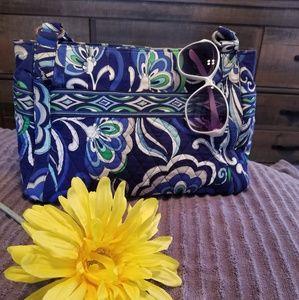 Blue and green Vera Bradley bag